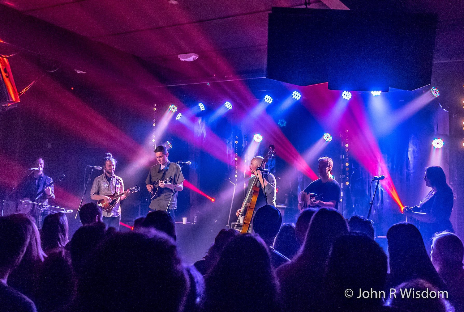 Yonder Mountain String Band featuring Kyle Ledson at Terrapin Crossroads, San Rafael, CA.  Photo by John R Wisdom