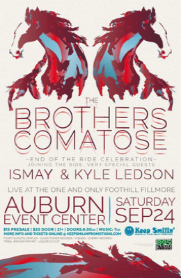 Kyle Ledson and the Brothers Comatose at the Auburn Events Center