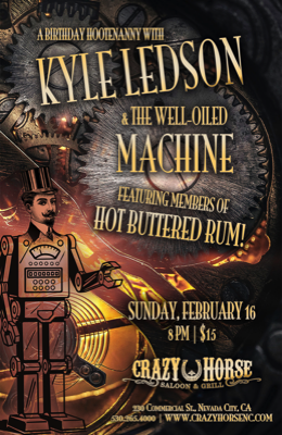 Kyle Ledson and the Well-Oiled Machine