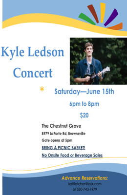 Kyle Ledson returns to the Cestnut Grove in Brownsville